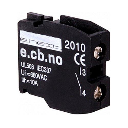 Фото Блок-контакт для кнопок, открытый, e.cb.stand.la.no Электробаза