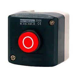 Пост кнопочный, стоп, выпуклая кнопка, e.cs.stand.xal.d.115