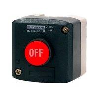 Фото Пост кнопочный, стоп, выпуклая кнопка, e.cs.stand.xal.d.118