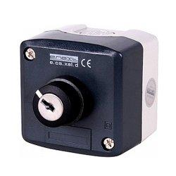 Пост кнопочный, секторный, на положение 0-1 с ключом, e.cs.stand.xal.d.144