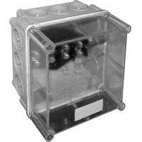 Фото Монтажная коробка пластиковая Z1 SO IP 55 с кабельными вводами (165*165*140)