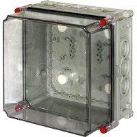 Фото Монтажная коробка пластиковая  Z3 W 3-3-3-3 IP55  (250*250*1