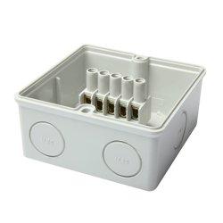 Распределительная коробка, 200х160х98 мм, с клеммной колодкой, e.industrial.db.925.k