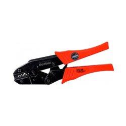 Инструмент для обжима и опрессовки изолированных кабельных наконечников 1,5-6,0 кв.мм e.tool.crimp.hs.10.1,5.6