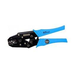Инструмент для обжима и опрессовки изолированных кабельных наконечников 1,0-10,0 кв.мм e.tool.crimp.hs.101.1.10
