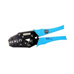 Инструмент для обжима и опрессовки изолированных кабельных наконечников 1,5-6,0 кв.мм e.tool.crimp.hs.30.j.0,5.6