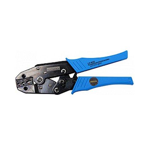 Фото Инструмент для обжима и опрессовки изолированных кабельных наконечников 1,5-6,0 кв.мм e.tool.crimp.ly.03.c.0,5.6 Электробаза