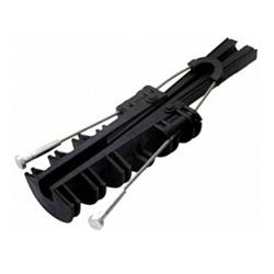 Зажим анкерный изолированный 70-120 мм.кв., на тросе, e.i.clamp.pro.rope.70.120