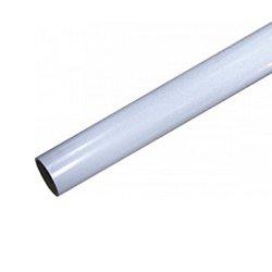 Труба пластиковая, тонкостенная, ПВХ, d 25х1.3х2900 мм, e.pipe.stand.thin.25.13