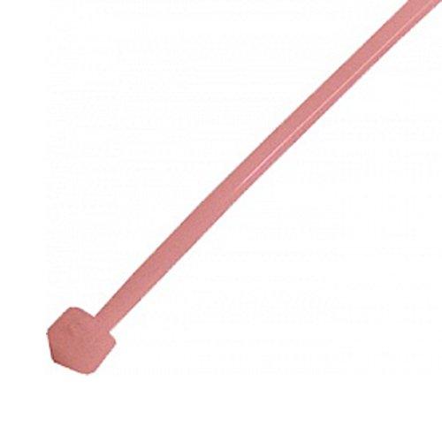 Фото Кабельная стяжка 100 шт. красная 300х5 мм e.ct.stand.300.5.red Электробаза