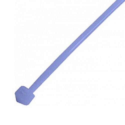 Фото Кабельная стяжка 100 шт. синяя 370х4 мм e.ct.stand.370.4.blue Электробаза