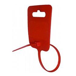 Хомут маркировочный e.dct.stand.5.250.red