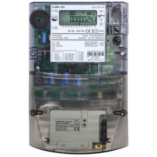 Фото Трёхфазный счётчик для зелёного тарифа GAMA 300 G3В.144.230.F27 Электробаза