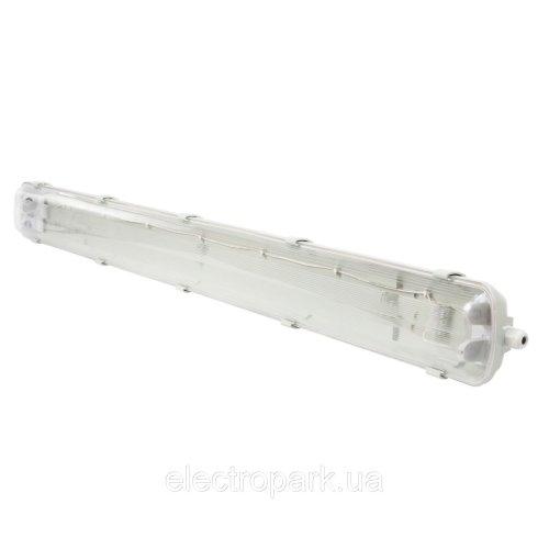 Корпус светильника LED ЄВРОСВІТЛО SH40  2*1200мм  без пра без ламп  IP 65