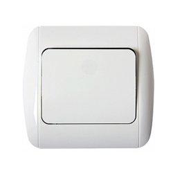 Выключатель проходной с рамкой e.install.stand.811/2