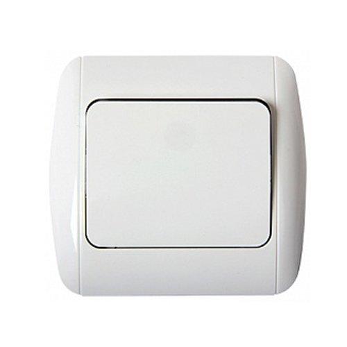 Фото Выключатель одноклавишный с рамкой e.install.stand.811 Электробаза