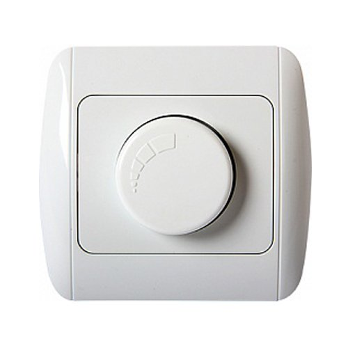 Фото Диммер для ламп до 600Вт с рамкой e.install.stand.816-D600 Электробаза