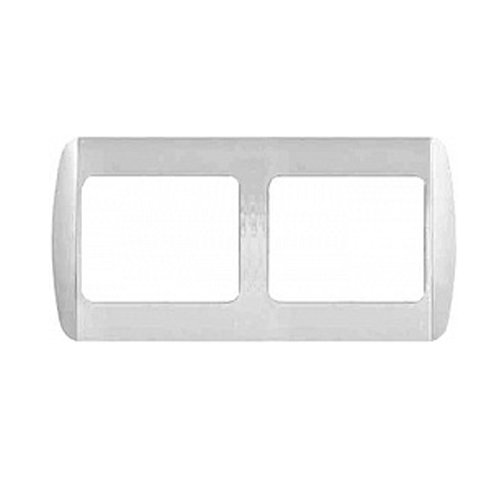 Фото Рамка для розетки, вывключателя 2-местная e.install.stand.frame.2 Электробаза