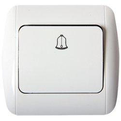 Выключатель звонка кнопочный e.install.stand.811D
