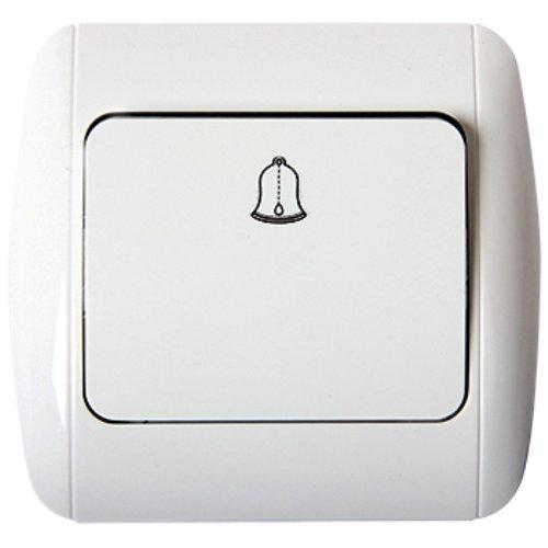 Фото Выключатель звонка кнопочный e.install.stand.811D Электробаза