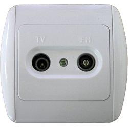 Розетка TV+радио с рамкой e.install.stand.815TM E.NEXT