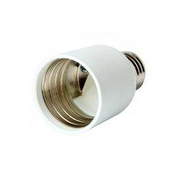 Переходник с цоколя Е27 на Е40 пластиковый e.lamp adapter.Е27/Е40.pl