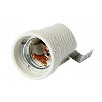 Фото Цоколь Е27 керамический для ламп e.lamp socket.Е27.cer