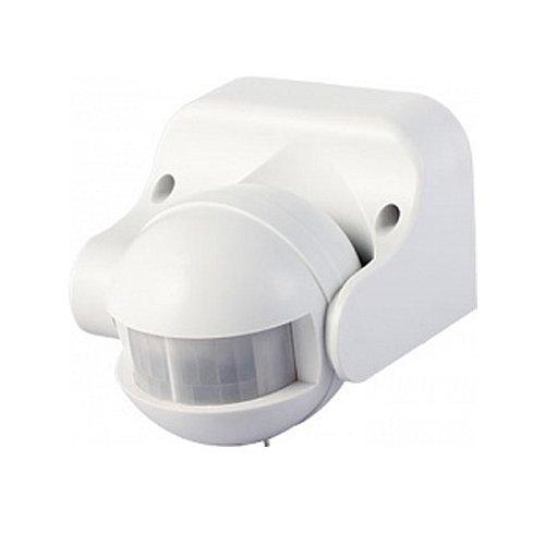 Фото Датчик движения инфракрасный 180°, IP44 белый, e.sensor.pir.09.white Электробаза