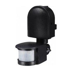 Датчик движения наружный 180° IP44 черный e.sensor.pir.10F.black