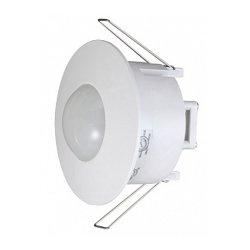 Датчик движения потолочный встраеваемый 360° IP20 белый e.sensor.pir.42.white