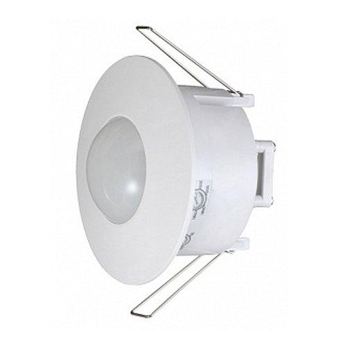 Фото Датчик движения инфракрасный потолочный встраеваемый 360°, IP20, белый, e.sensor.pir.42.white Электробаза