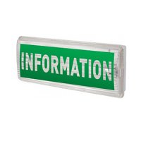 Наклейка INFORMATION для аварийных светильников 506,506L,507