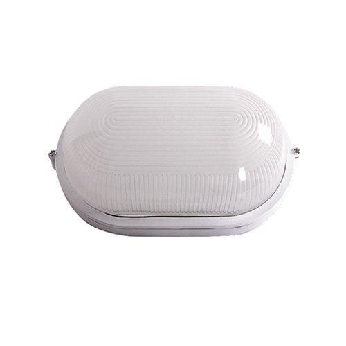 Фото Светильник влагозащитный, 100 Вт, e.light.1401.1.100.27.white Электробаза