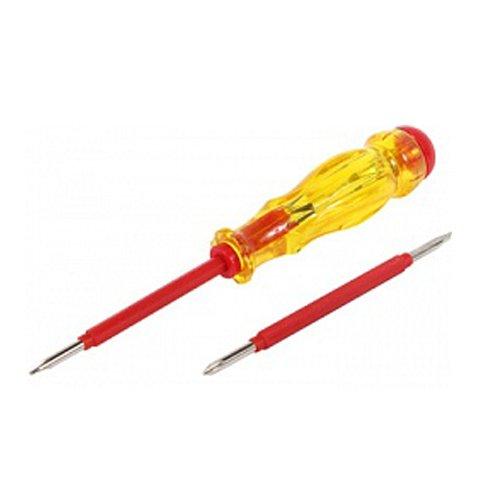 Фото Отвертка индикатор прямой+крестовый шлиц АС100-500В 155х3хph0 e.tool.test06 Электробаза