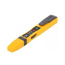 Индикатор напряжения тестер прямой шлиц АС/DC70-250В 140х3мм e.tool.test09