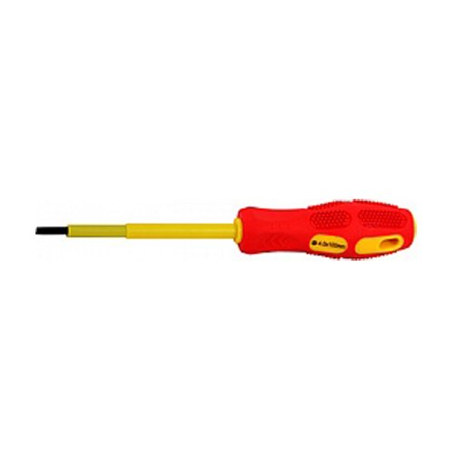 Фото Отвертка изолированная шлиц (5.5*125) e.tool.st.505 Электробаза