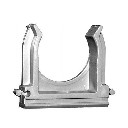 Фото Клипса для гофротрубы, d 32 мм (упаковка 25 шт.) e.g.tube.clip.stand.32 Электробаза