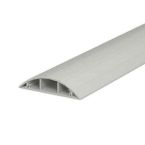 Фото Короб для проводов пластиковый, напольный, 75х18 мм, MUTLUSAN, e.trunking.arc.stand.m.75.18 Электробаза