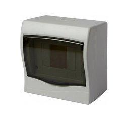 Щиток пластиковый навесной, 4 модульный, e.plbox.stand.n.04