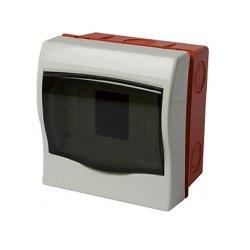 Щиток пластиковый встраиваемый, 4 модульный, e.plbox.stand.w.04