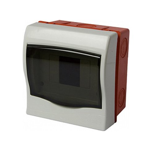 Фото Щиток пластиковый встраиваемый, 4 модульный, e.plbox.stand.w.04 Электробаза