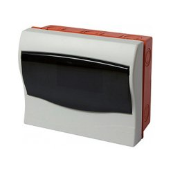 Щиток пластиковый встраиваемый, 9 модульный, e.plbox.stand.w.09