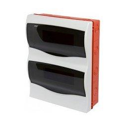 Щиток пластиковый встраиваемый, 24 модульный, e.plbox.stand.w.24