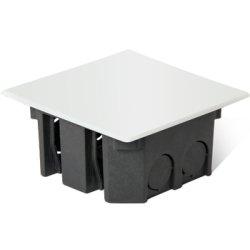 Распределительная коробка пластиковая (25шт) кирпич/бетон e.db.stand.85.85.45
