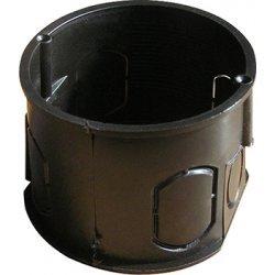 Установочная коробка кирпич/бетон с шурупом, одиночная (упаковка 100 шт.) e.db.stand.100.d60.screw
