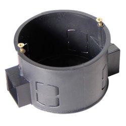 Установочная коробка с шурупом кирпич/бетон, блочная (упаковка 100 шт.) e.db.stand.101.d60.screw