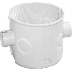 Установочная коробка кирпич/бетон, блочная, глубокая e.db.stand.102.d60