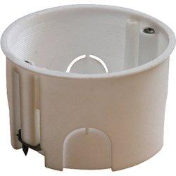 Установочная коробка гипсокартон, одиночная, упор металлический e.db.stand.203.d65