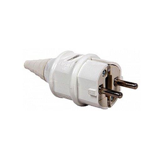 Вилка силовая, переносная, 2п., 220В, 16А (012), e.plug.pro.2.16