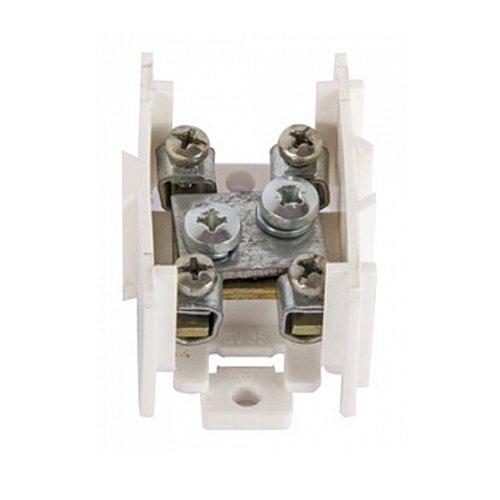 Фото Клеммная колодка проходная, стальной контакт, 1х35 мм.кв./4х6 мм.кв., e.tc.main.steel.35 Электробаза